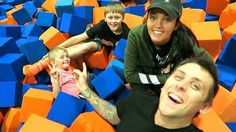 Roman Atwood: OUR OWN FOAM PIT!!