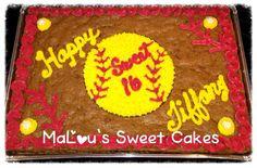 Softball cookie cake Softball Birthday Parties, Softball Party, 13th Birthday Parties, Softball Stuff, Softball Mom, Sports Party, 10th Birthday, Birthday Ideas, Kylie Birthday