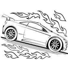 Free Printable Race Car Coloring Pages For Kids Preschool
