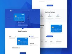 Financial Landing Page by Ramotion