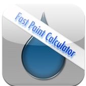 Fast Paint Calculator Apple/iTunes Application. Punch in the dimensions of any room and the price per gallon and this app will instantly calculate the cost for the painting project. Users can add the cost for a second coat or painted ceiling with a tap of the screen. The app also allows users to quickly adjust the price per gallon and paint coverage.