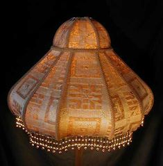 Vintage Lighting and Accents - America's formost lampshade designers! Victorian Lamps for any victorian parlor. Featuring custom designed lampshade styles and original antique lamps. Custom styles to match Victorian, Oriental, Art Deco decorating schemes. Victorian Parlor, Victorian Lamps, Lampshade Redo, Lampshades, Unique Lighting, Vintage Lighting, Chandelier Design, Pink Lamp Shade, Antique Floor Lamps