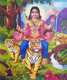 Even though in Hinduism the tiger is best associated with Durga and Shiva, the god Ayyappa is also depicted riding on the tiger. Sabarimala Ayyappa Temple, Kerala, South India- A Unique Hindu Shrine in the World Lord Murugan Wallpapers, Lord Krishna Wallpapers, Om Namah Shivaya, Shiva Wallpaper, Photo Wallpaper, Profile Wallpaper, Wallpaper Pictures, Nepal, Lord Shiva Hd Images
