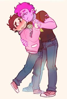 Steven Universe Oc, Steven Universe Wallpaper, Steven Universe Crossover, Cartoon Crossovers, Male Cartoon Characters, Universe Images, Drawing Reference Poses, Cartoon Art Styles, Animation