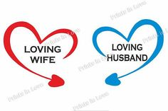 Print Loving wife&Loving husband for shirts mugs arrows in shape heart vector, templates for mugs, shirts. Design for couple, lovers/ Digital graphic
