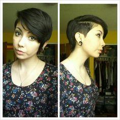 her hair is so killer I need ~