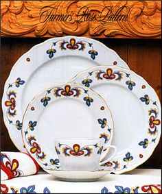 Farmers Rose design/ also includes other Scandinavian design tableware