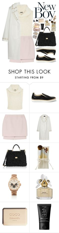 """""""run with the boys: men's sneakers no. 3"""" by almost-glamorous ❤ liked on Polyvore featuring Maiyet, Maison Margiela, Simone Rocha, Dolce&Gabbana, Michael Kors, Marc Jacobs, Chanel, NARS Cosmetics and H&M"""
