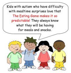 Helping kids with ASD cope with an ever changing environment can be a full time job and then some! Let The Eating Game take care of doing that for their eating environment,  www.theeatinggame.ca
