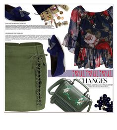 """Changes"" by nerma10 ❤ liked on Polyvore featuring Saks Fifth Avenue"