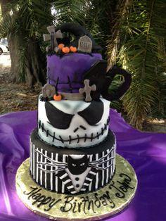 Nightmare before Christmas cake for John's 40th Birthday!