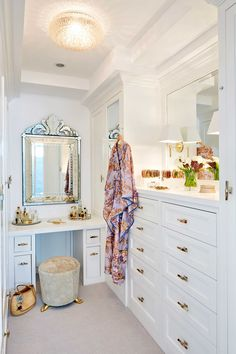 ] Dresser Room Design Small Amazing Home Interior 20 Great Walkin Closet Ideas Stunning Large Custom Closet Designs Custom Closet Design, Custom Closets, Closet Designs, Master Closet, Closet Bedroom, Walk In Closet, Bed In Closet, Glam Closet, Luxury Closet