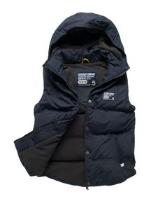 Superdry Hooded Camping Vest