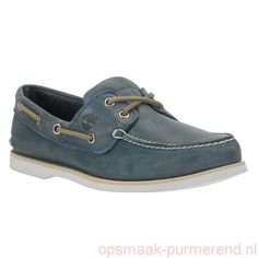Internetters Light Blue Full Grain Timberland - Heren Timberland® Icon Classic 2-Eye 158249eR32140 Aat