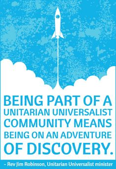 Unitarian Universalist Adventure of Discovery - Poster