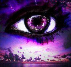 Magical Purple Eye by MOMOroxette on DeviantArt Purple Love, All Things Purple, Purple Rain, Shades Of Purple, Purple Sunset, Dark Purple, Purple Unicorn, Pretty Eyes, Cool Eyes