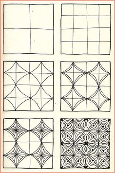 Doodle Patterns 508977195379365572 - Zentangle Archives – Page 6 of 10 – Crafting DIY Center Source by nathaliegyssler Dibujos Zentangle Art, Zentangle Drawings, Doodles Zentangles, Zentangle Patterns, Doodle Drawings, Doodle Art, How To Zentangle, Zentangle Art Ideas, Zentangle For Beginners