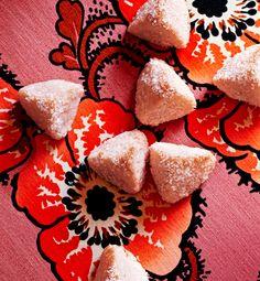 Dorie Greenspan's Tucker Cookies.. perfect pink pyramids. @doriegreenspan @bonappetit