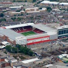 Bramall Lane (1889), Sheffield United.  Home of the blades.  My team !!! I work  just across the road from the stadium.