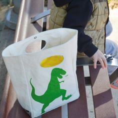 Natural, Fair Trade e-Shop for Mommies and Babies Winter Sale, T Rex, Paper Shopping Bag, Panda, Tote Bag, Bags, Fair Trade, Natural, Cotton Bag