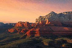 Sunset on the Hangover Trail, Schnebly Hill Road, Sedona, AZ
