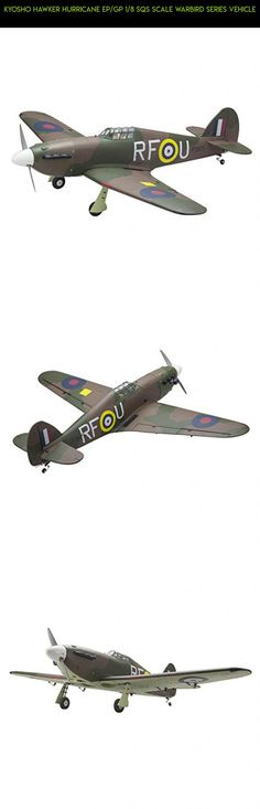 Kyosho Hawker Hurricane EP/GP 1/8 SQS Scale Warbird Series Vehicle #fpv #tech #kyosho #shopping #plans #kit #drone #products #racing #airplane #parts #technology #camera #gadgets