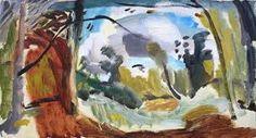 Image result for ivon hitchens landscape