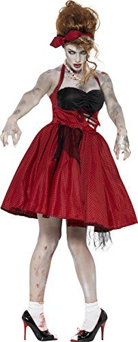 Smiffys Womens Zombie 50s Rocakabilly Multi Medium ** Click image for more details.