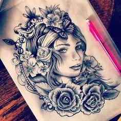 Resultado de imagem para gypsy tattoo
