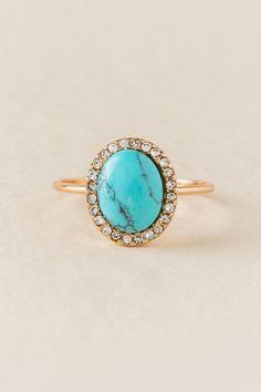 Julia Turquoise Ring