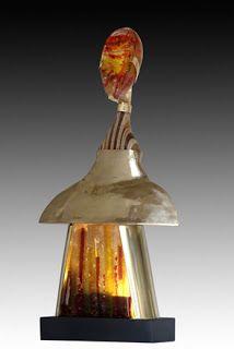 S-Szendy  Bijoux : Sculpture Homme lumineuse Szendy Stephane Stephane, Sculptures, Lighting, Home Decor, Stained Glass, Jewerly, Decoration Home, Room Decor, Lights