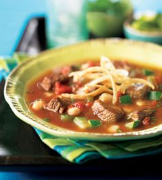Crockpot Beef Pozole (Hearty Beef Soup)