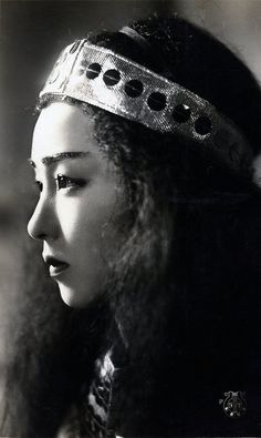 Japanese Movie Actress from the 1940s.