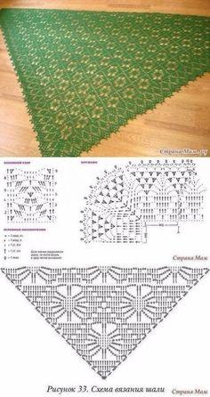 8 Tuch häkeln / Muster / Cloth Scarf - Her Crochet Poncho Crochet, Crochet Shawl Diagram, Crochet Shawls And Wraps, Crochet Chart, Crochet Scarves, Crochet Motif, Crochet Clothes, Crochet Lace, Shawl Patterns