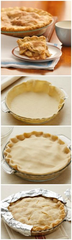 Apple Pie Shortcut to the perfect classic apple pie!Shortcut to the perfect classic apple pie! Just Desserts, Delicious Desserts, Yummy Food, Apple Pie Recipes, Baking Recipes, Apple Pies, Apple Pie Recipe Easy, Pastry Recipes, Pie Dessert