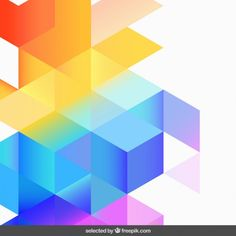 Abstract colorful degraded background Free Vector