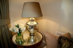 Home - Self Catering Accomodation - St Andrews - Perthshire - Fife - Outfield Farm - Abernyte - Carse of Gowrie - Perth - Let's Go Scotland Holiday Accommodation, Luxurious Bedrooms, Table Lamp, Corner, Living Room, Luxury, Detail, Home Decor, Luxury Bedrooms