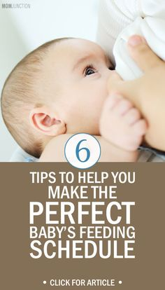 Do you have a lot of concerns & questions post delivery like how to make a feeding schedule for your baby? Read 6 tips to make newborn baby feeding schedule