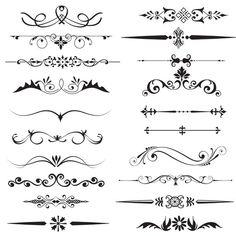 Page divider clipartText Divider ClipartDecorative Dividers Clipart, Page Dividers, Cursive Alphabet, Decorative Lines, Best Friend Tattoos, Digital Text, Lettering Styles, Border Design, Design Design