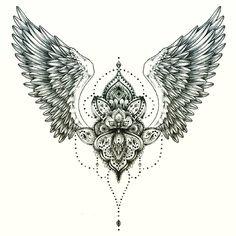 30 Tattoos for Women - Page 17 of 31 - Tattoo Designs Stomach Tattoos, Back Tattoos, Future Tattoos, Body Art Tattoos, Sleeve Tattoos, Cool Tattoos, Tattoo Drawings, Tattoo Son, Tatoo Art