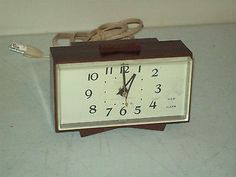 General Electric Alarm Clock Vintage American made no. 7270 classic 1970's  | eBay