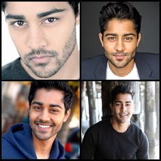 """Manish Dayal. Never has there been a more appropriate pin for my """"happy pictures"""" board."""