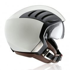 The BMW AirFlow 2 helmet looks futuristic and vintage at the same time.