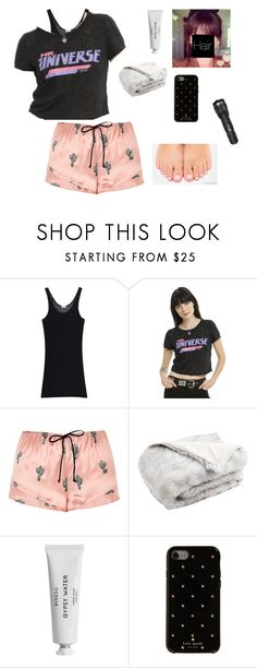 """""""What's Happening???? 0_0~EENE"""" by mystic-moonstone ❤ liked on Polyvore featuring iHeart, Cartoon Network, River Island, Safavieh, Byredo and Kate Spade"""