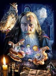 The Great Wizard Merlin Merlin is a Title.I've either known a Merlin or have been an apprentice to one.maybe even became one - a very long long time ago Symbole Viking, Ascended Masters, Photo Chat, Spirit Science, Fantasy Kunst, Quantum Physics, Gandalf, Fantasy World, Hobbit