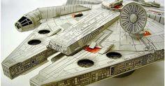 Descargable friki: la maqueta 3d del Halcón Milenario de Star Wars para imprimir y montar. ¡entra!