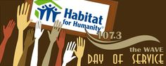 Help us beautify Cleveland Habitat's ReStore with First Federal of Lakewood.  Volunteer for our Day Of Service this Saturday.   This year we will help beautify the Restore; painting, reorganizing and cleaning. The goal is to make it more like a furniture/appliance store than a warehouse. We will have 2 shifts to accommodate everyone's schedule. Please choose 9am-1pm, 1pm-4pm, or for the super workers 9am-4pm! Everyone that volunteers is registered to win $100 to Georgetown Restaurant in Lake...