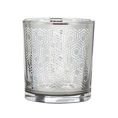 Debenhams Metallic glass hexagon tea light holder- at Debenhams.com