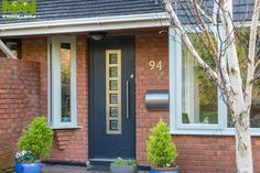 Need Composite Doors? We are Dublin's leading Front Doors experts. We are located in Swords, Dublin. Visit our website to see our Exterior doors. Composite Front Door, Front Door Design, Exterior Doors, Garage Doors, Front Doors, Windows And Doors, Dublin, Facade, Entrance