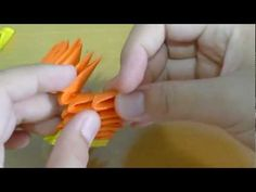 How to make a 3D origami charmander (part 1).